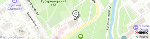 Интегра на карте Петрозаводска