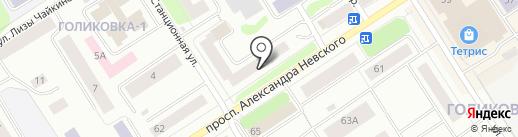 Оранжевое настроение на карте Петрозаводска
