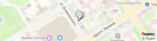 Московский Комсомолец в Карелии на карте Петрозаводска
