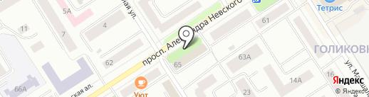 ПиЭрСи Групп на карте Петрозаводска