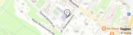 Школа коррекции и развития №31 VIII вида на карте Брянска