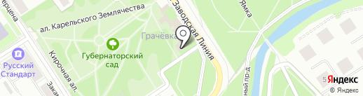 Музей природы Карелии на карте Петрозаводска