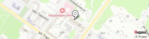 Ростелеком, ПАО на карте Брянска