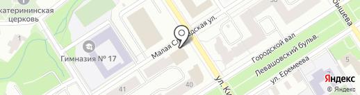 Банкомат, Альфа-банк на карте Петрозаводска