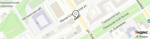 Балтийский банк, ПАО на карте Петрозаводска