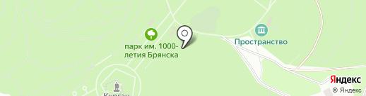 Зоопарк на карте Брянска