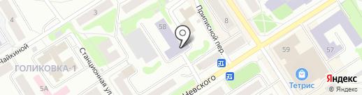 Центр молодежного инновационного творчества на карте Петрозаводска