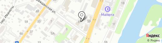 Брянское областное управление инкассации на карте Брянска