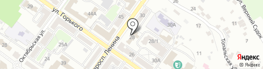 Архитектурно-планировочное бюро г. Брянска на карте Брянска