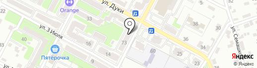 Швейная мастерская на карте Брянска