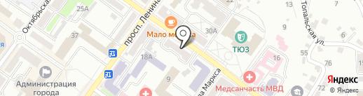 MAYKOR на карте Брянска