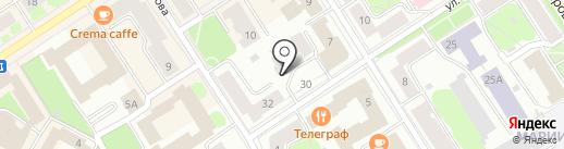 Модельная школа Дарьи Виноградовой на карте Петрозаводска