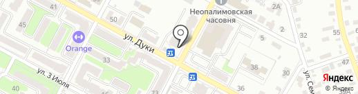 Престиж на карте Брянска