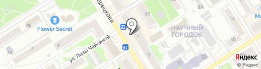 585 GOLD на карте Петрозаводска