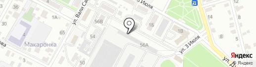 Катран на карте Брянска