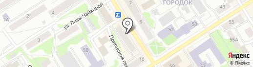 Городская детская поликлиника №2 на карте Петрозаводска