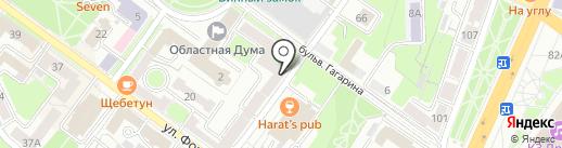 ДЮСШ по шахматам и шашкам на карте Брянска