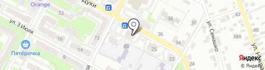 Gefest на карте Брянска