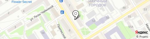 Регина на карте Петрозаводска