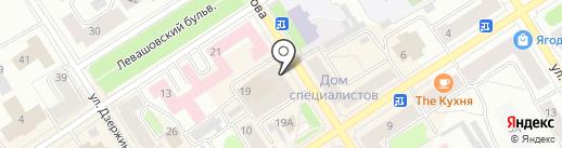 Дариано на карте Петрозаводска