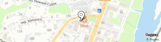 Брянский гомеопатический центр на карте Брянска
