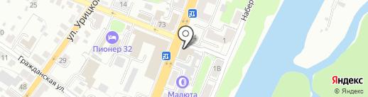 Шелковый путь на карте Брянска