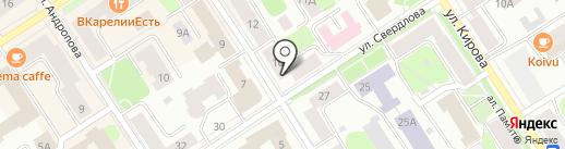 Полезные Продукты на карте Петрозаводска