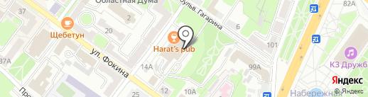 Barduck на карте Брянска