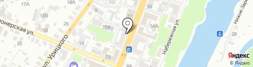 Айвенго на карте Брянска