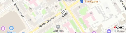 Центр установки водосчетчиков на карте Петрозаводска