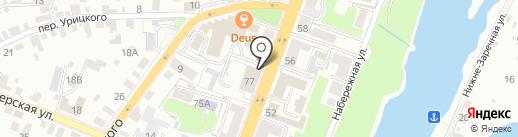 Детская школа искусств №2 им. П.И. Чайковского на карте Брянска