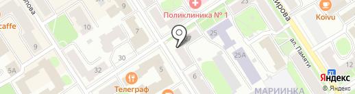 Здоровье на карте Петрозаводска