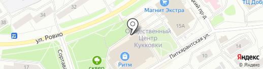 Мастерская по ремонту обуви и одежды на карте Петрозаводска