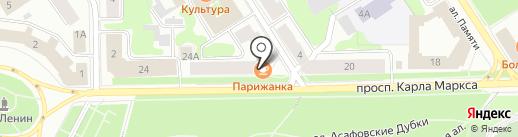 Карла Маркса 22, ТСЖ на карте Петрозаводска