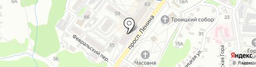 ALTA VIVA на карте Брянска