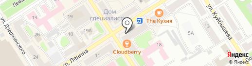 Чайная лавка на карте Петрозаводска