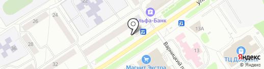 Оазис на карте Петрозаводска