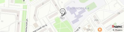 Валенсия на карте Петрозаводска