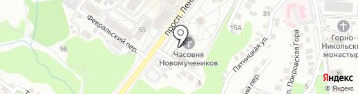 Духовно-просветительский центр имени преподобного благоверного князя Олега Брянского на карте Брянска