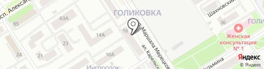 МЕНЕДЖМЕНТ И КОНСАЛТИНГ ГРУПП на карте Петрозаводска
