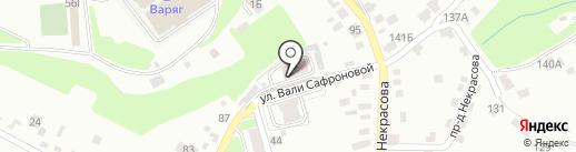 Ветеринарная лечебница Советского района на карте Брянска