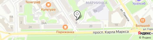 Эксперт-Оценка, ЗАО на карте Петрозаводска