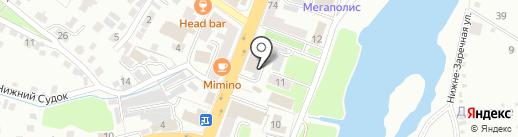 Промсырье на карте Брянска