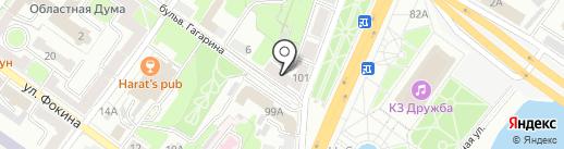 Позитиффчик на карте Брянска