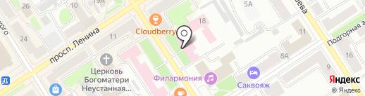 Медико-санитарная часть МВД России по Республике Карелия на карте Петрозаводска