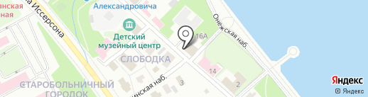 Карельская строительная компания №1 на карте Петрозаводска