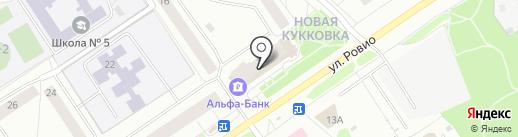 ЧитайГрад на карте Петрозаводска