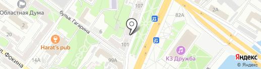 АвтоТайм на карте Брянска