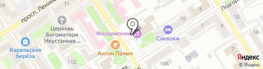 Симфонический оркестр на карте Петрозаводска