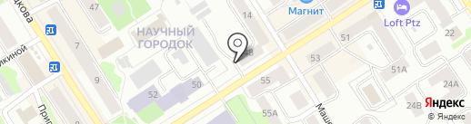 Maneken на карте Петрозаводска